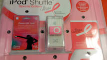 Target sells a pink Shuffle for Breast Cancer Foundation