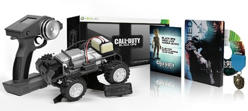 Call of Duty: Black Ops Prestige Edition comes with working RC spy car