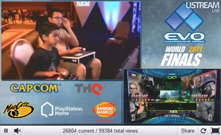 Eight-year-old Noah brings the pain to pro players at EVO 2011