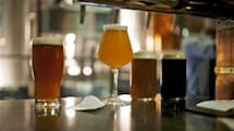 On-demand food service delivers beer with your meal