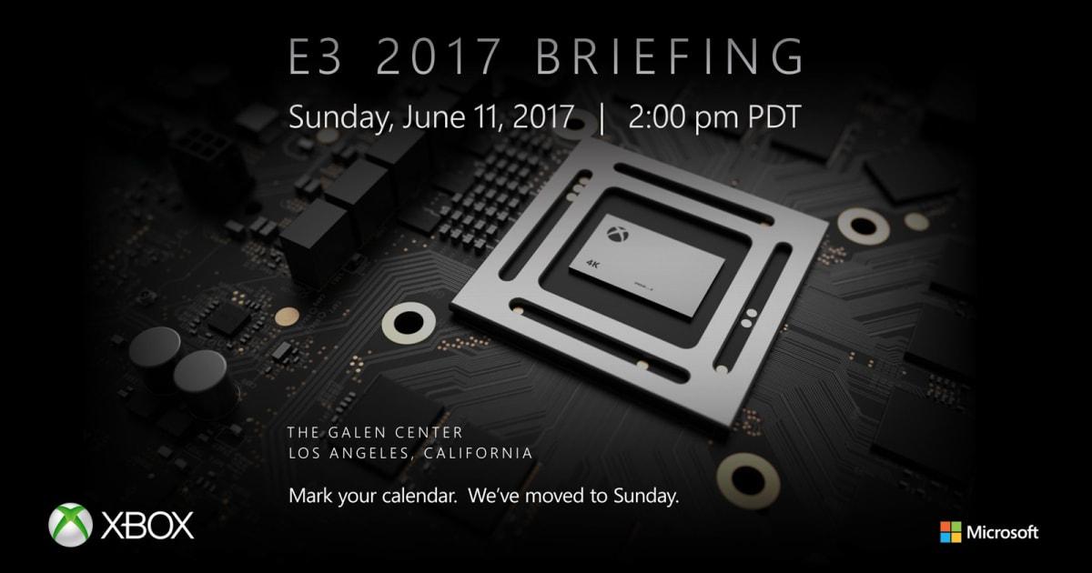 Microsoft will Unveil Xbox Project Scorpio on June 11th