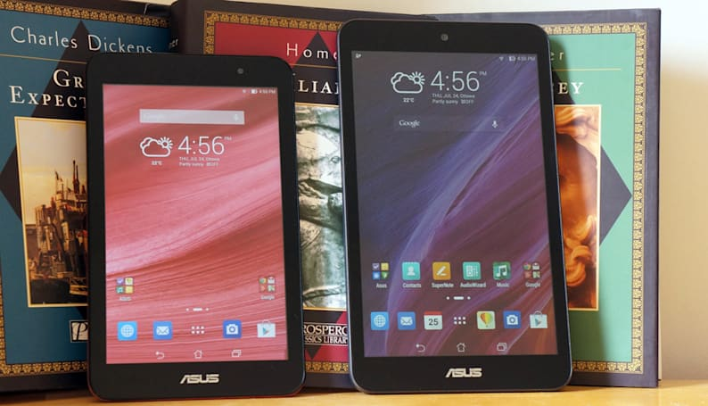 ASUS MeMO Pad 7 and 8 review: small, speedy tablets that cut a few corners