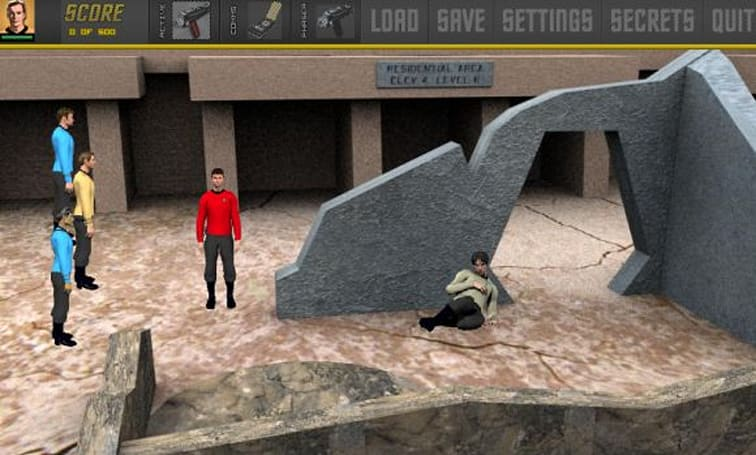 Demo available for unofficial Star Trek adventure game
