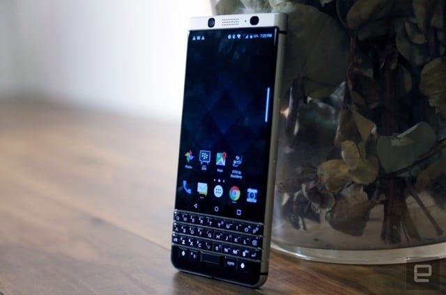 Der neue BlackBerry heißt KeyOne