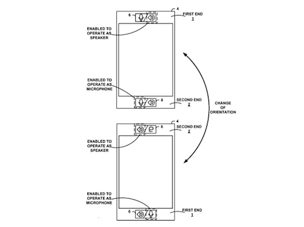 Google's smartphone patent doesn't mind which end you talk into