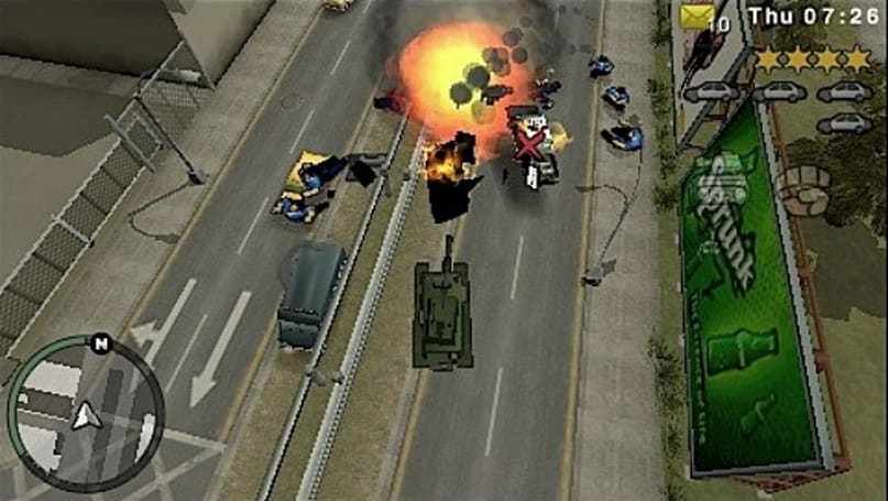 First screens of Grand Theft Auto: Chinatown Wars PSP hijacked