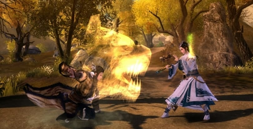 Age of Wushu previews new school abilities after server merge