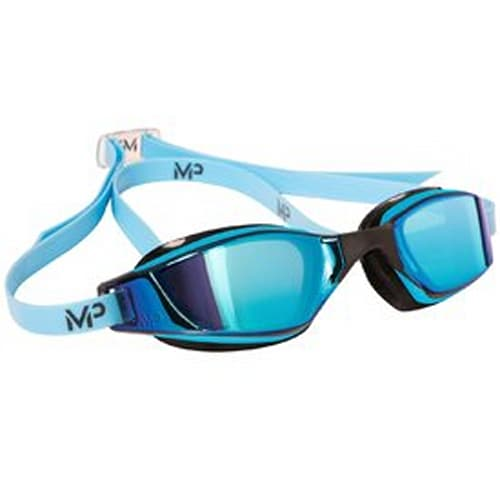 MP Michael Phelps Xceed titanium mirror swimming goggles
