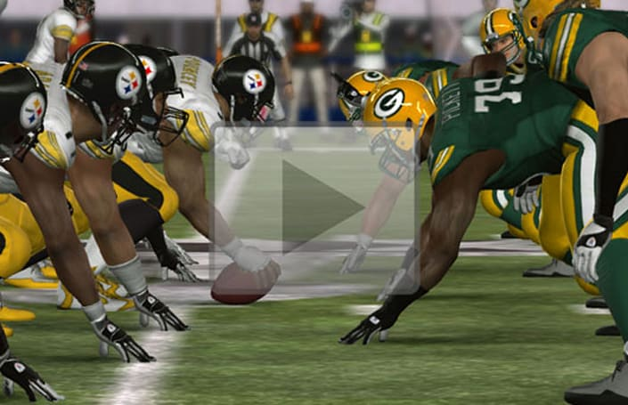 Steelers win Madden 11 Super Bowl simulation