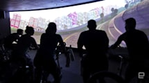A high-tech spin class took me from San Francisco to Wonderland