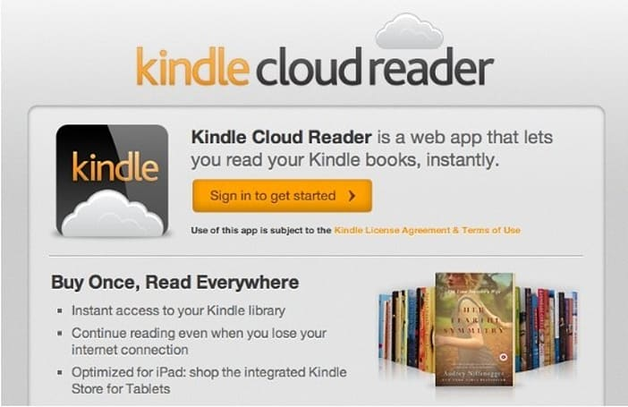 Amazon's Kindle Cloud Reader storms into Firefox on an HTML5 chariot