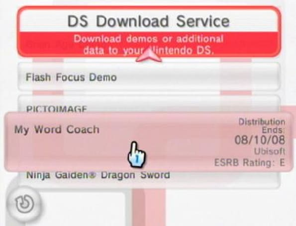 DS Download Service aims to improve your vocabulary