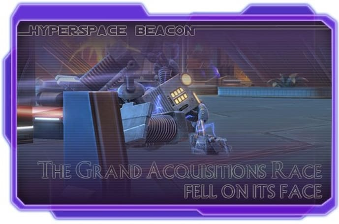 Hyperspace Beacon: SWTOR's Grand Acquisition Race fell on its face