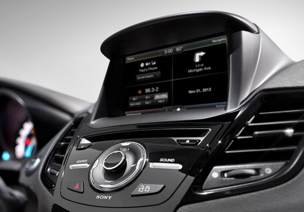 2014 ford fiesta gets myford touch smarter sync voice. Black Bedroom Furniture Sets. Home Design Ideas