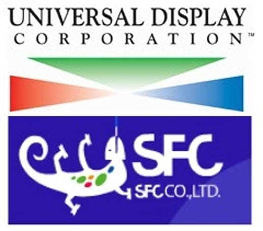 Universal Display, SFC partner up to develop PHOLED tech
