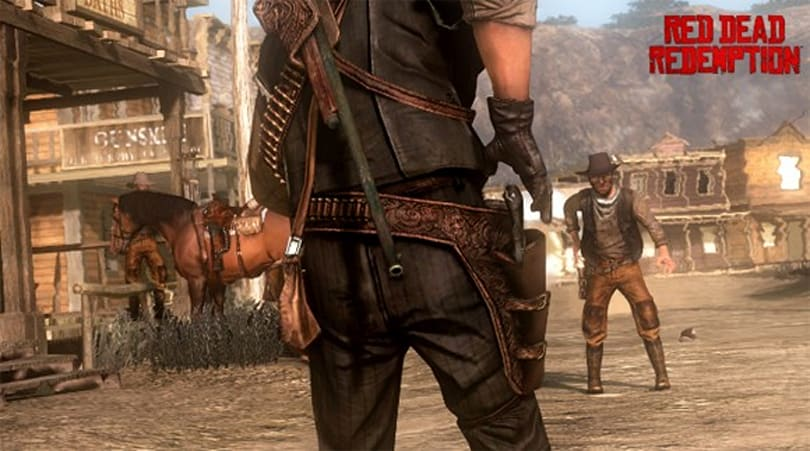 Red Dead Redemption rides atop UK charts for third week