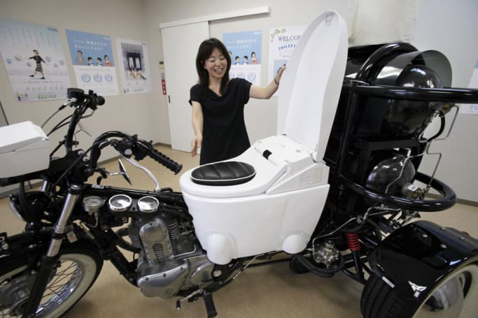 A Westerner's guide to Japanese toilets