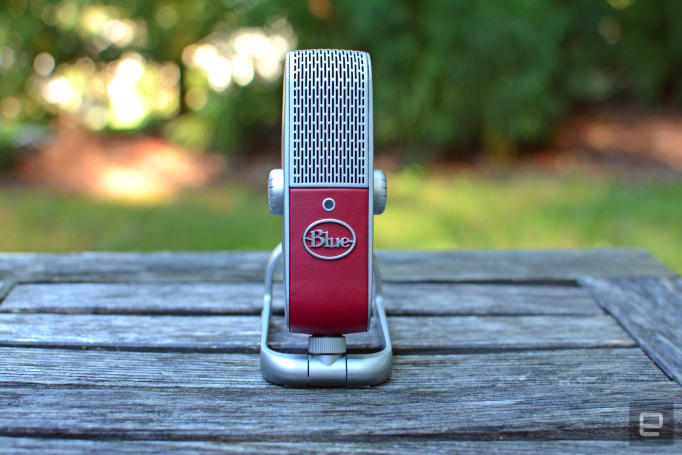 Blue's Raspberry mic is small, but delivers stellar audio quality