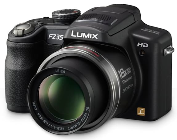 Panasonic's new LUMIX consumer lineup: the high-powered FZ35, fashionable FP8 and thin-lensed ZR1
