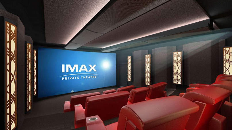 IMAX will build your home theater for a mere $400,000