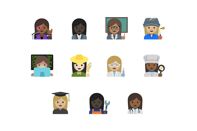 Google's emoji for working women get thumbs up from Unicode