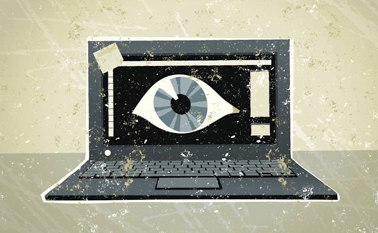 The FBI recommends you cover your laptop's webcam, for good reason