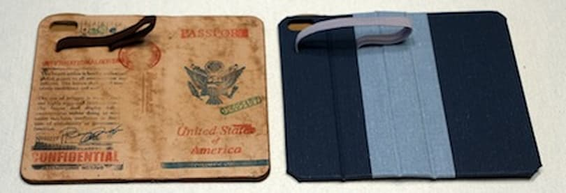 Portenzo Alano SLIM and HardBack wallet cases for iPhone 5c/5s