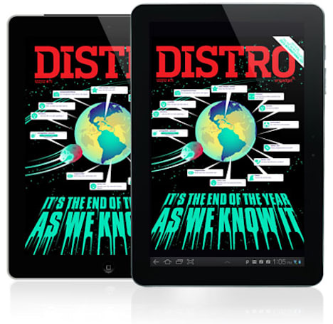 Distro Issue 71 arrives with a look back at the year in tech