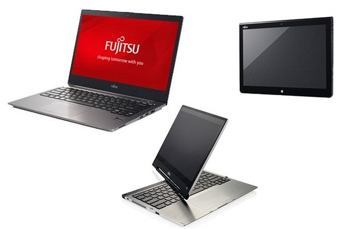 Fujitsu beckons businesses with new Windows 8.1 notebooks, convertibles and tablets