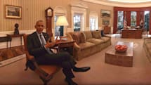 The Obamas bid farewell with a VR White House tour