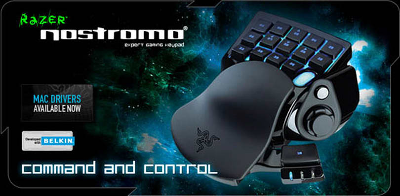 Reviewing the Razer Nostromo: A comfortable place to rest your hand