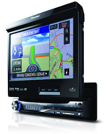 Pioneer set to release AVIC-X3 GPS entertainment system in Europe