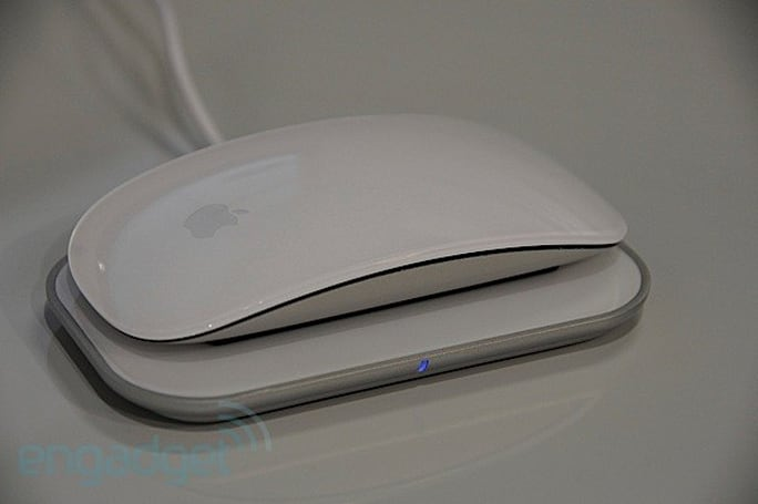 Mobee's inductive Magic Charger for Apple's Magic Mouse really is magical
