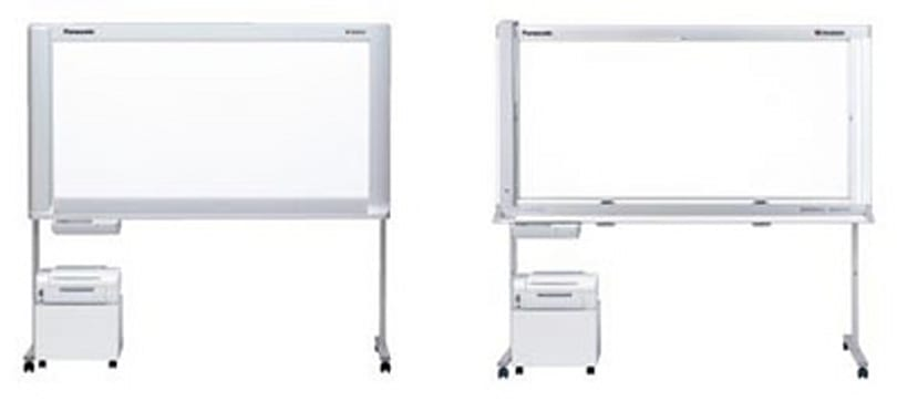 Panasonic debuts password-protected whiteboards