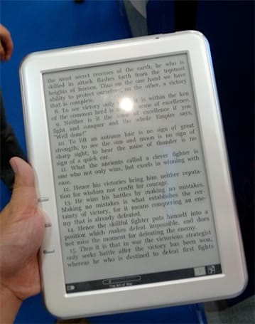 Netronix EB-600 and EB-500 e-readers spotted at Computex