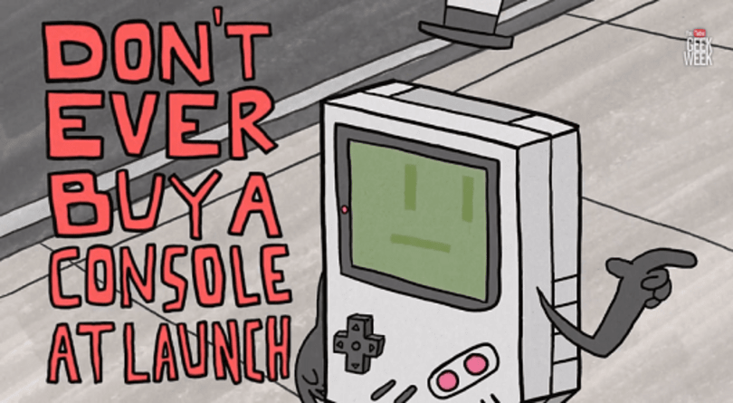 Brentalfloss' 'Game Launch Rock!' is a cautionary tale for youngsters