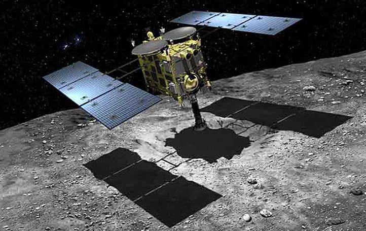 Japan's Hayabusa 2 spacecraft heads to a carbon-rich asteroid soon