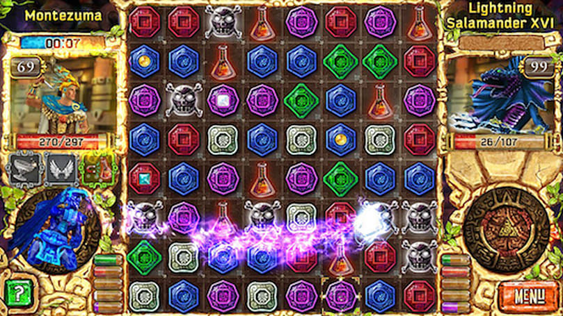 Treasures of Montezuma: Arena to match up PS Vitas in Europe