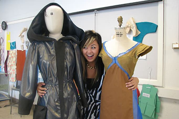 Cornell designer concocts garb that prevents colds, shuns pollution