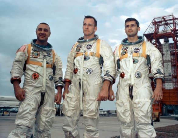 NASA will use Apollo 1 hatch to honor fallen crew