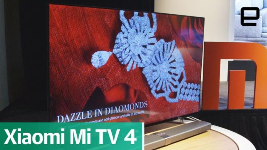 Xiaomi Mi TV 4: First look