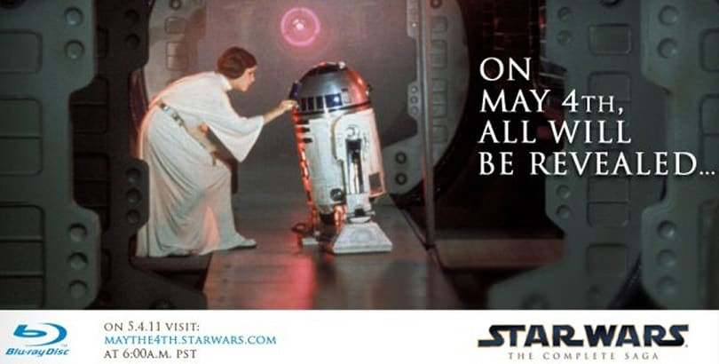 Star Wars Blu-ray details to be revealed May 4th