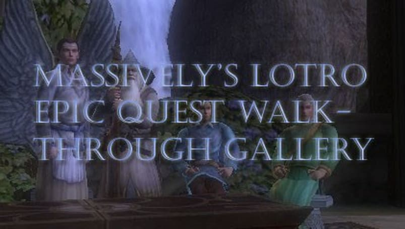 The Lord of the Rings Online: The epic quest line told in pictures