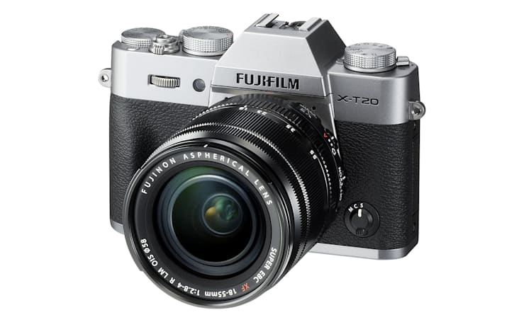 Fujifilm's X-T20 is an affordable, compact take on the X-T2