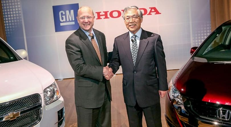 GM and Honda team up to produce next-gen fuel cells by 2020