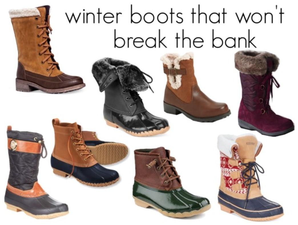 Cute winter boots that won't break the bank