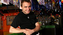 Dude, you're getting a drink: Dell dude now a waiter