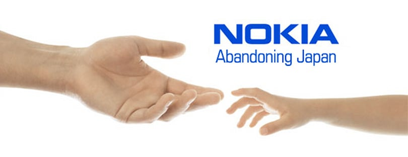 Nokia pulls out of Japan: once more, with feeling