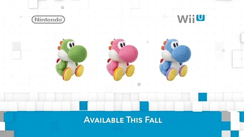 'Yoshi's Wooly World' snuggles up to a fall release window