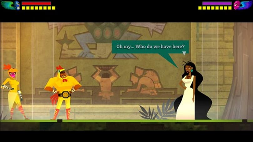 Guacamelee costume DLC returns from the dead